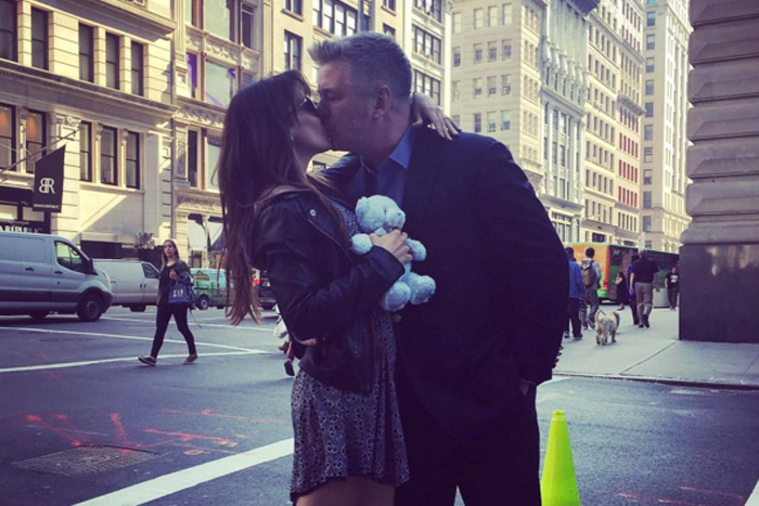Alec and Hilaria Baldwin announced their new baby on Instagram