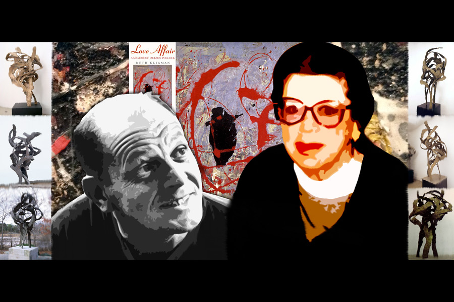 Jackson Pollock and Mary Lincoln Bonnell