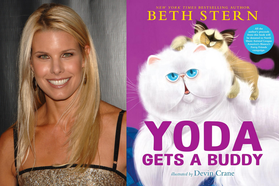 Beth Stern and her new book, Yoda Gets Buddy