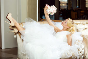 A bride's only focus should be enjoying her big day