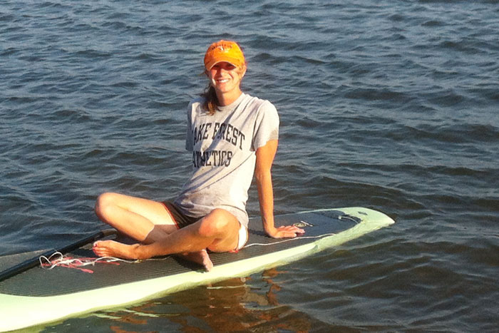 kelly laffey paddleboard