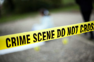 Crime Scene Police Stock Photo