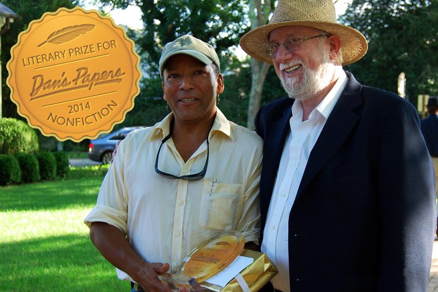 Dan Rattiner and 2012 Literary Prize winner James K. Philips