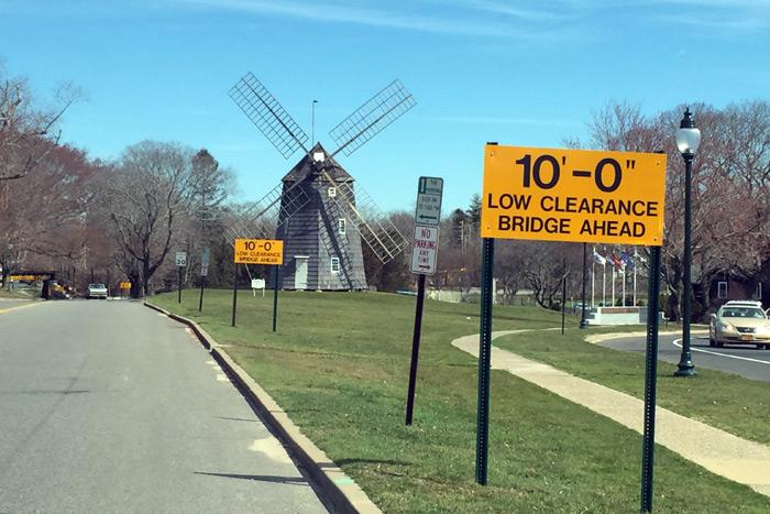 The Hook Mill windmill in East Hampton