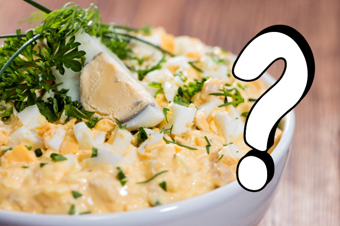 Police are asking locals to report all fabulous egg salad to the authorities