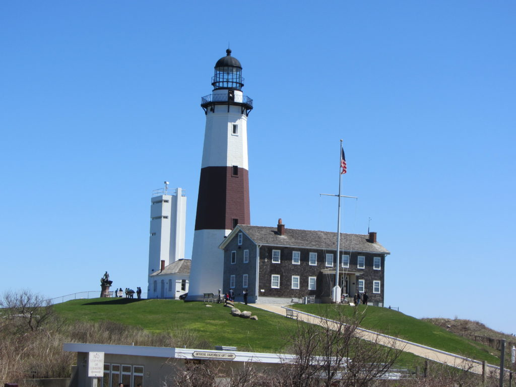The Montauk Lighthouse on Turtle Hill, photo by S. Dermont