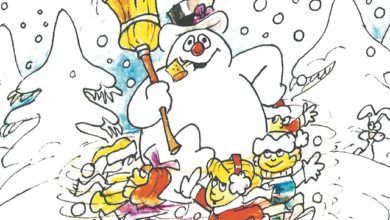 Frosty the Snowman by Riverhead's Don Duga.