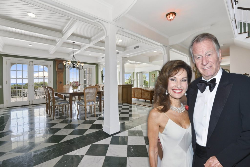 Susan Lucci and Helmut Huber at home