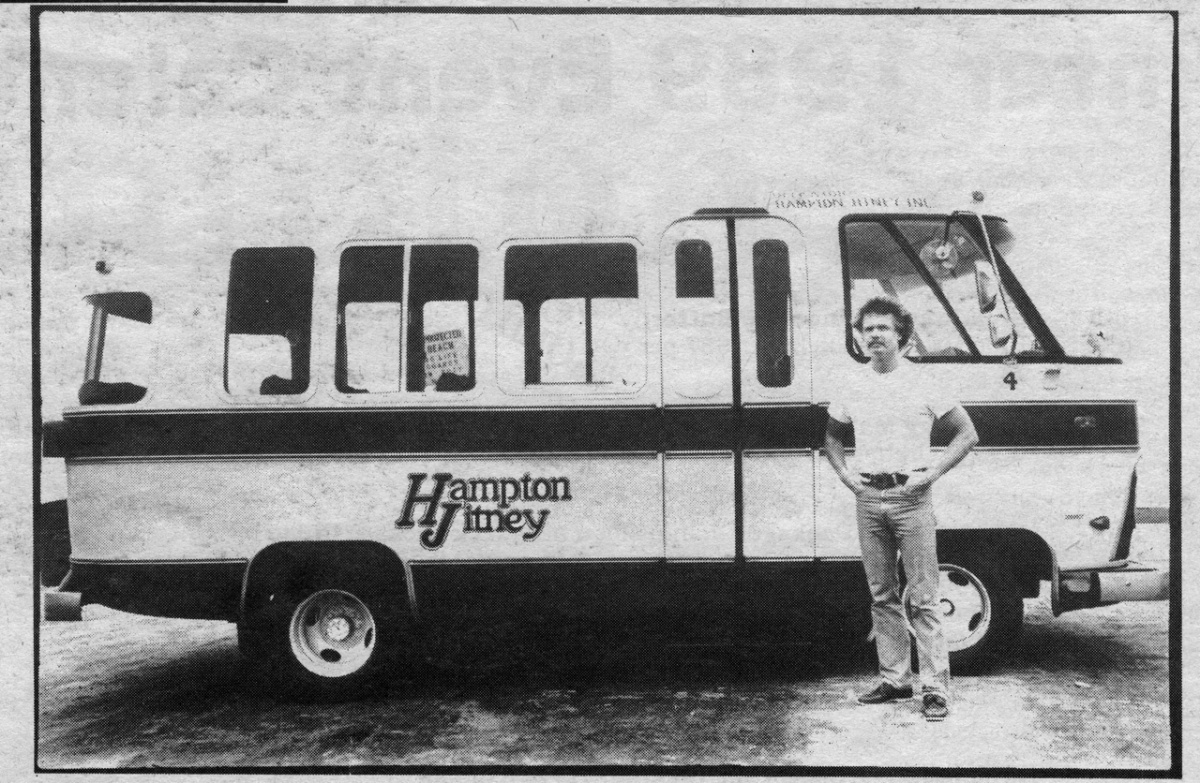 Jim Davison and the Hampton Jitney.