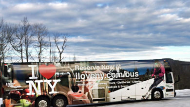 Hampton Jitney is the official ride for the state's I Love New York tourism program
