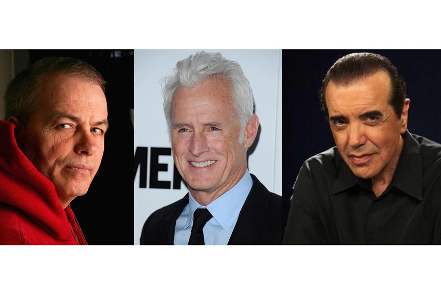 Bobby Moresco, John Slattery and Chazz Palminteri.