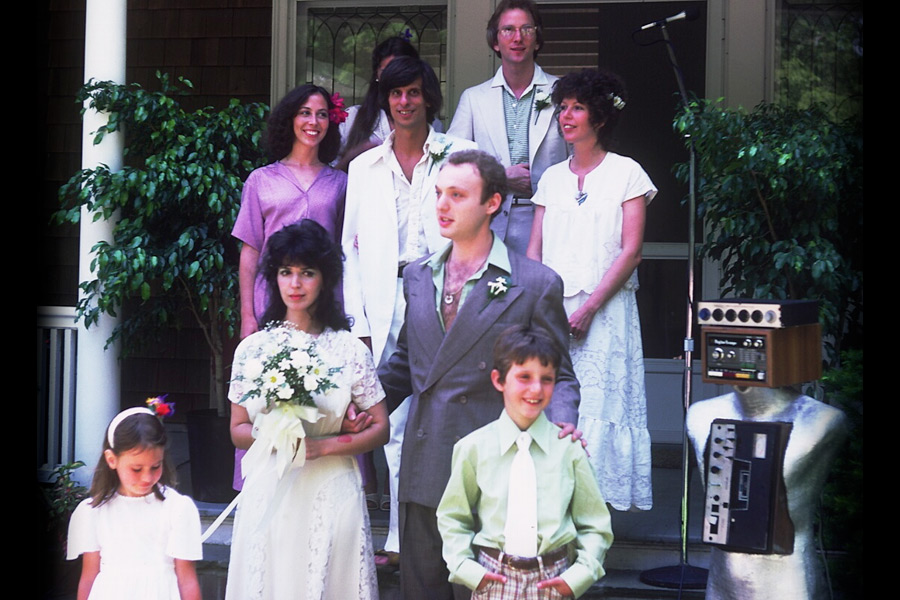 Monte Farber and Amy Zerner were married June 11, 1978