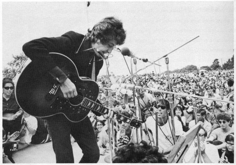 Bob Dylan at the Newport Folk Festival