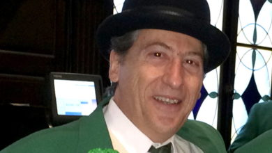 Paul Monte is the 2014 Grand Marshal of the Montauk Friends of Erin Parade.