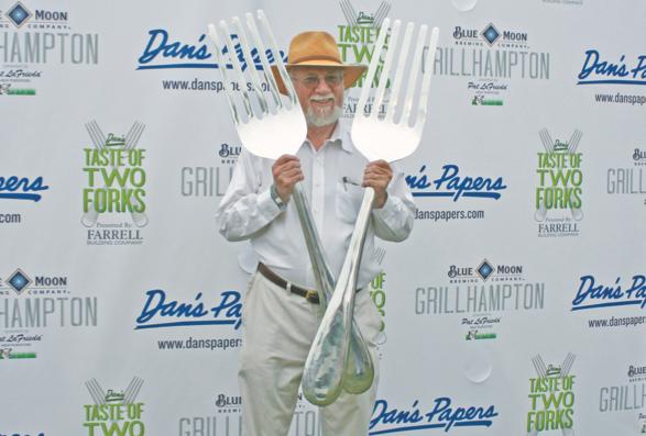 Dan Rattiner at Taste of Two Forks