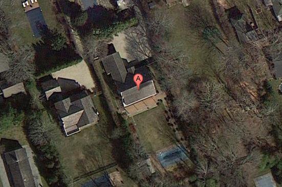 82 Pantigo Road, East Hampton. Credit: Google Maps