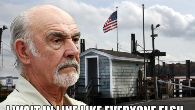 Sean Connery on Shelter Island