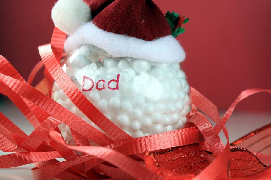 Sheltered Islander Dad Santa Bigstock