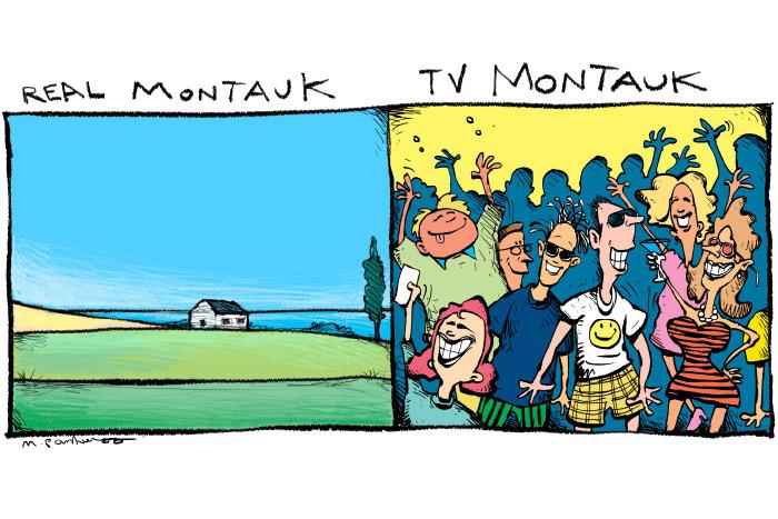 Summer House cartoon by Mickey Paraskevas