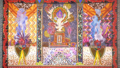 Temple of the Sacred Fire, Art by Amy Zerner