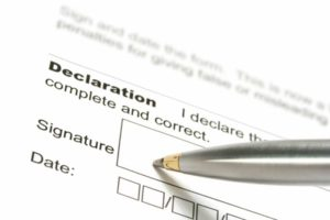 Be wary of signing out of possession title affidavits.