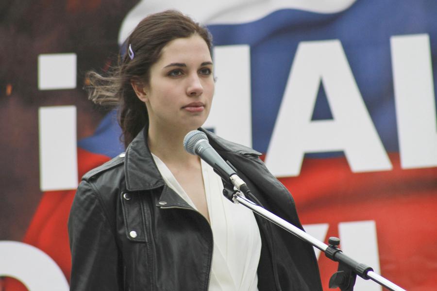 Nadezhda Tolokonnikova of Pussy Riot will speak at The Watermill Center.