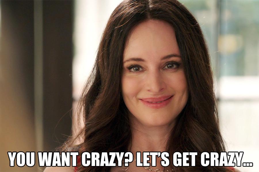 Victoria Grayson knows how to get crazy Revenge meme