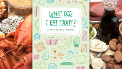 """What Did I East Today? A Food Lover's Journal"""