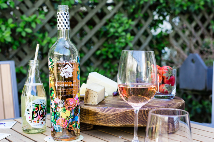 Wolffer Estate's Summer in a Bottle rose is among the East End's most sought after wines