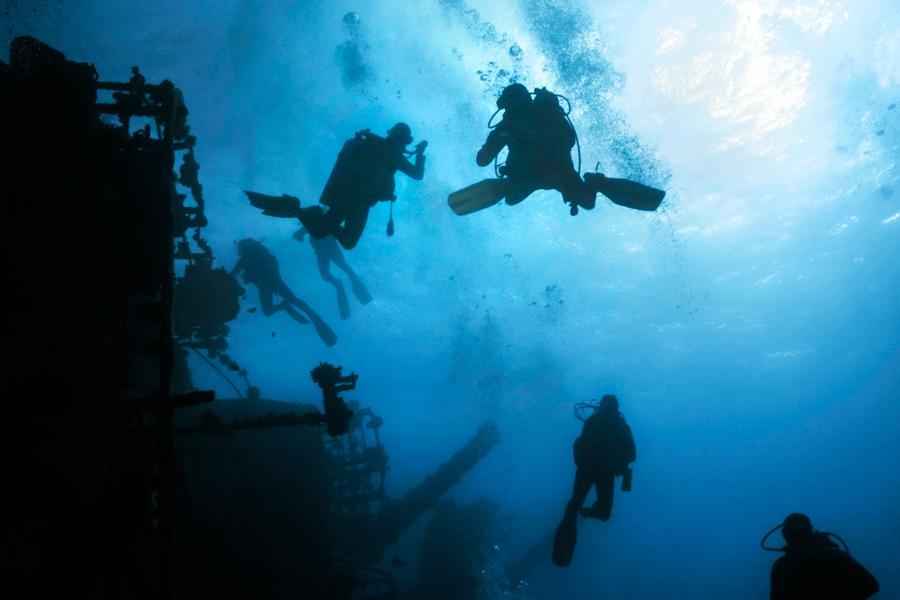 Dive the wrecks of Montauk!