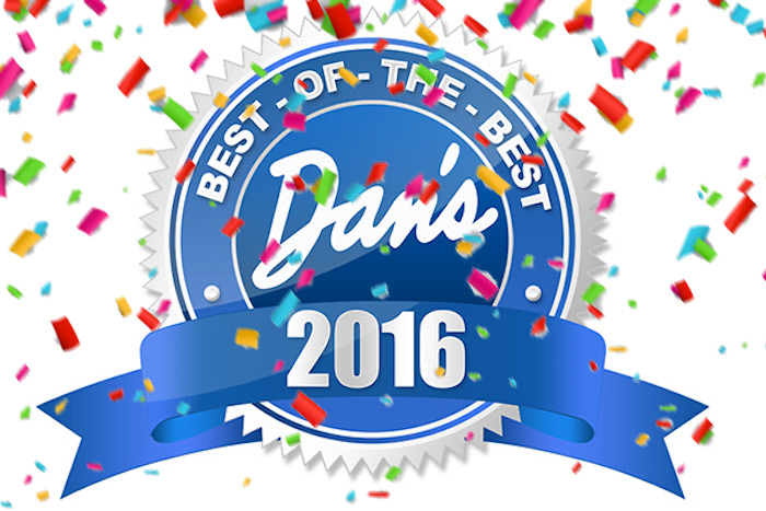 Dan's Best of the Best 2016