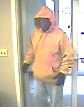 Capital One Bank,Suspected bank robber. Photo credit: Courtesy RIverhead PD