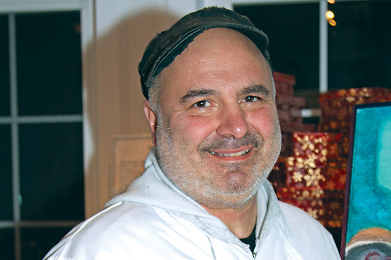 Chef Steven Biscari Amaral of North Fork Chocolate