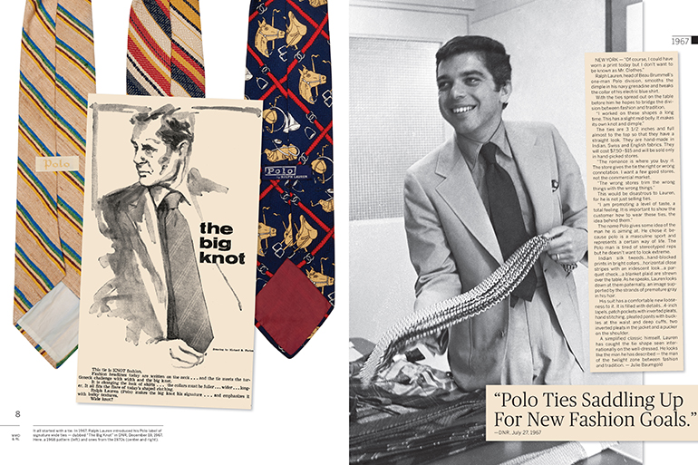 A young Ralph Lauren in WWD: Fifty Years of Ralph Lauren, Photo: Courtesy Rizzoli