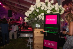 T-Mobile charging station