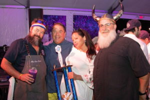 Chef Matty Boudreau and his team brought it again, taking home the Blue Moon People's Choice Award
