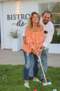 Liz Pavlou and Chef Arie Pavlou invite you to Bistro ete' for dinner, drinks and a game of croquet on the front lawn