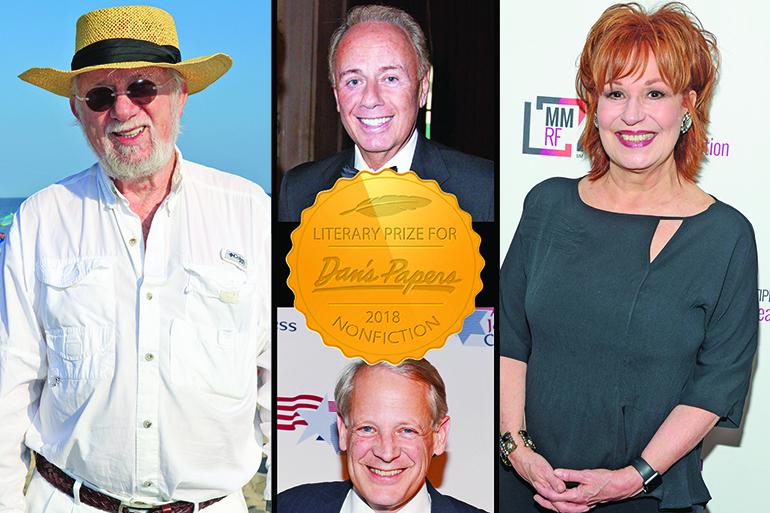 (Clockwise L-R) Dan Rattiner, Roger Rosenblatt, Joy Behar, Steve Israel, Photos: Barbara Lassen, ©PATRICKMCMULLAN.COM