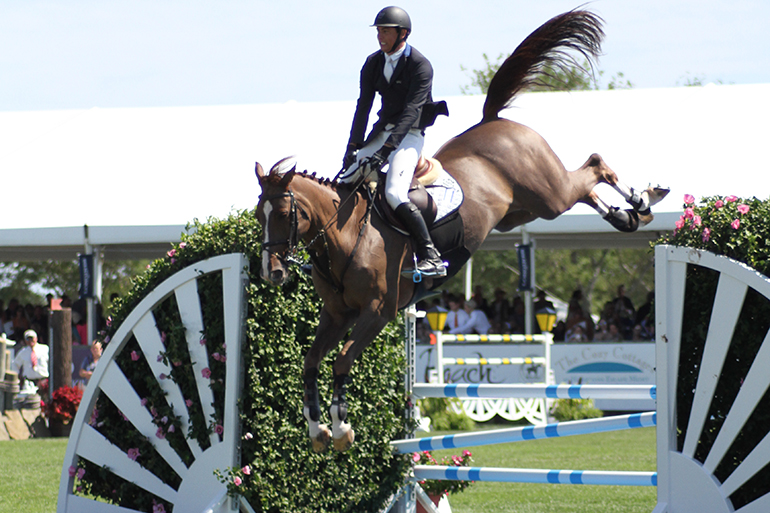 2016 Hampton Classic Grand Prix, Photo: Barbara Lassen