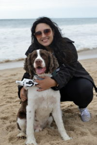 Kelly Acevedo with Thor