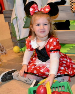 Adorable Minnie Mouse, Kennedy, 2 years old