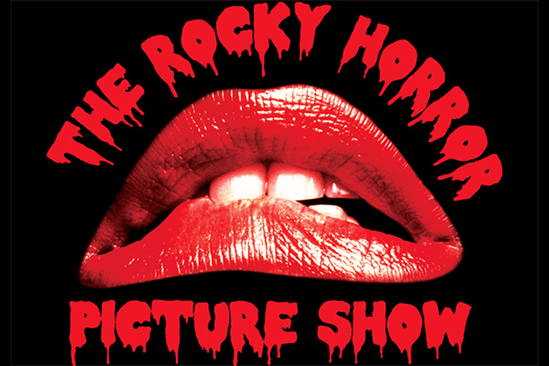 """The Rocky Horror Picture Show"" lips logo"