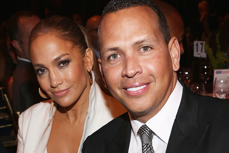 Jennifer Lopez and Alex Rodriguez at Prostate Cancer Foundation Presents the 2017 New York Dinner