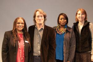 Panelists, Dr. Georgette Grier-Key, Donnamarie Barnes, David Rattray, Aileen Novick