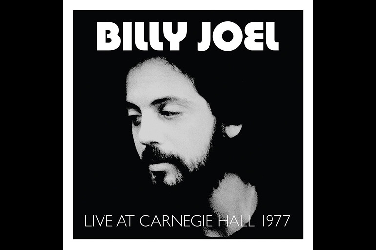 Billy Joel, Live At Carnegie Hall 1977 album cover