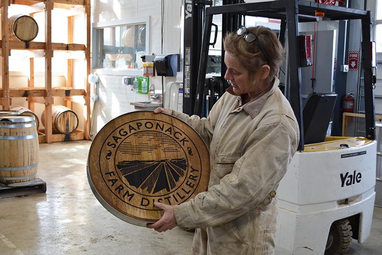 Marilee Foster of Sagaponack Farm Distillery, Photo: Stacy Dermont