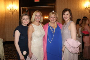 Nikki Abbott, Stacy Quarty-President of Lucia's Angels, Susie Barry Roden-Vice-President of Lucia's Angels, Kim Galway