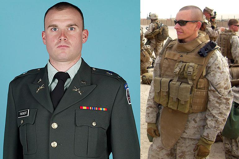 1st Lt. Joseph Theinert, LCpl. Jordan Haerter