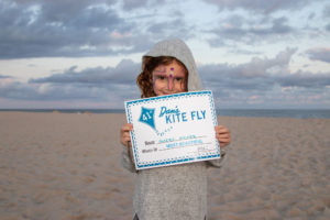 Most Beautiful Kite winner Avery Asher (age 7)