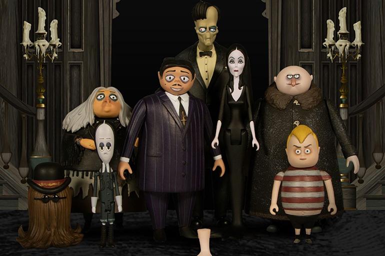 Mezco Addams Family toys